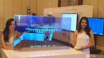 Penampakan Panel OLED Tembus Pandang LG Seharga Rp 700 Jutaan
