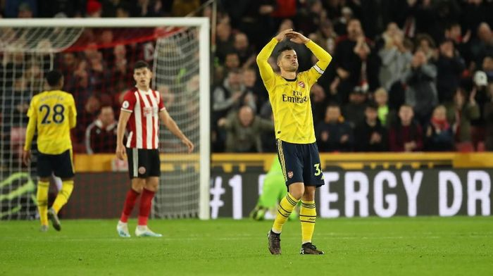 Arsenal kalah 0-1 di kandang Sheffield United dalam lanjutan Liga Inggris (Foto: Carl Recine/Action Images via Reuters)