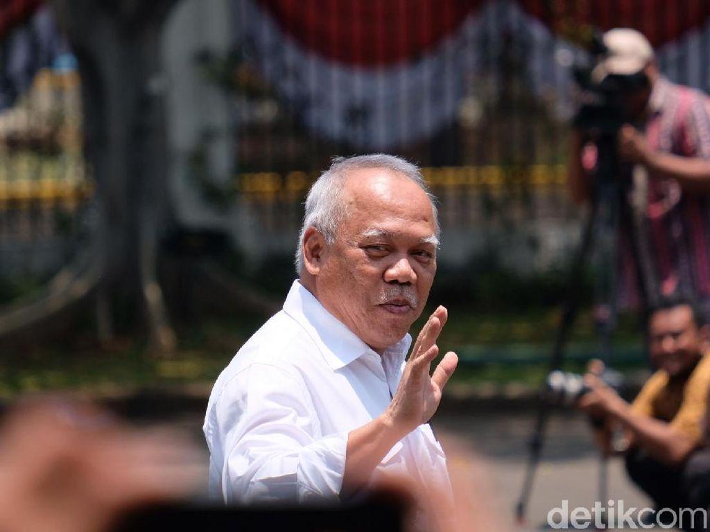 Bapak Infrastruktur Basuki Hadimuljono Dipanggil Jokowi ke Istana