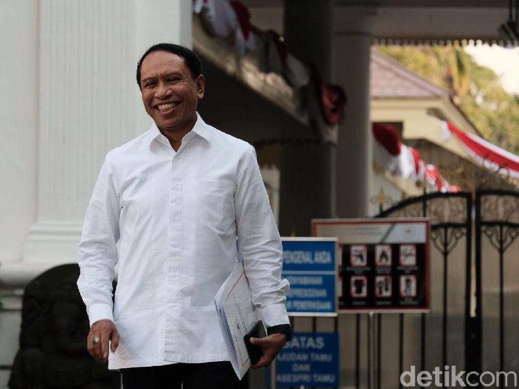 Politikus Golkar Zainudin Amali Bahas Prestasi Atlet dengan Jokowi
