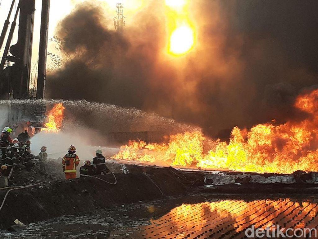 Pipa Pertamina Terbakar di Cimahi, Polisi: Ada Dugaan Kelalaian