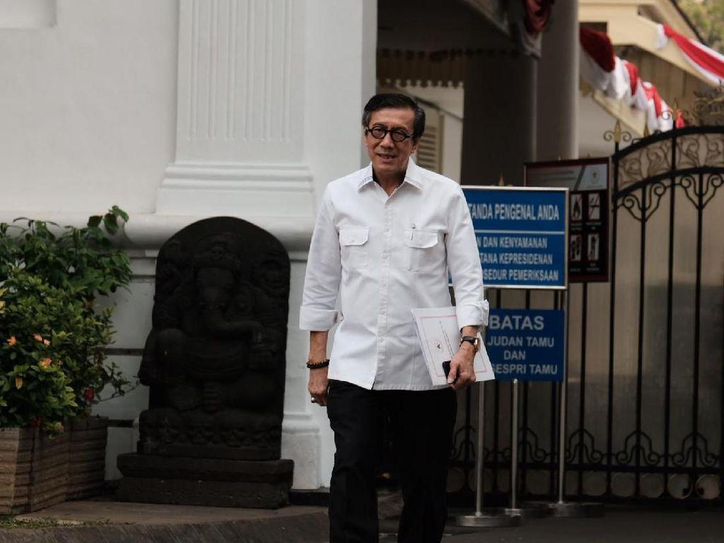 Akan Jadi Menteri Lagi, Yasonna Siap Mundur dari DPR
