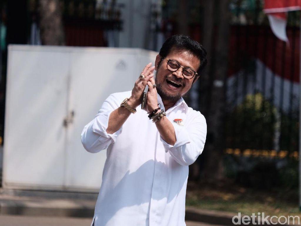 Susul Sri Mulyani, Syahrul Yasin Limpo Merapat ke Istana