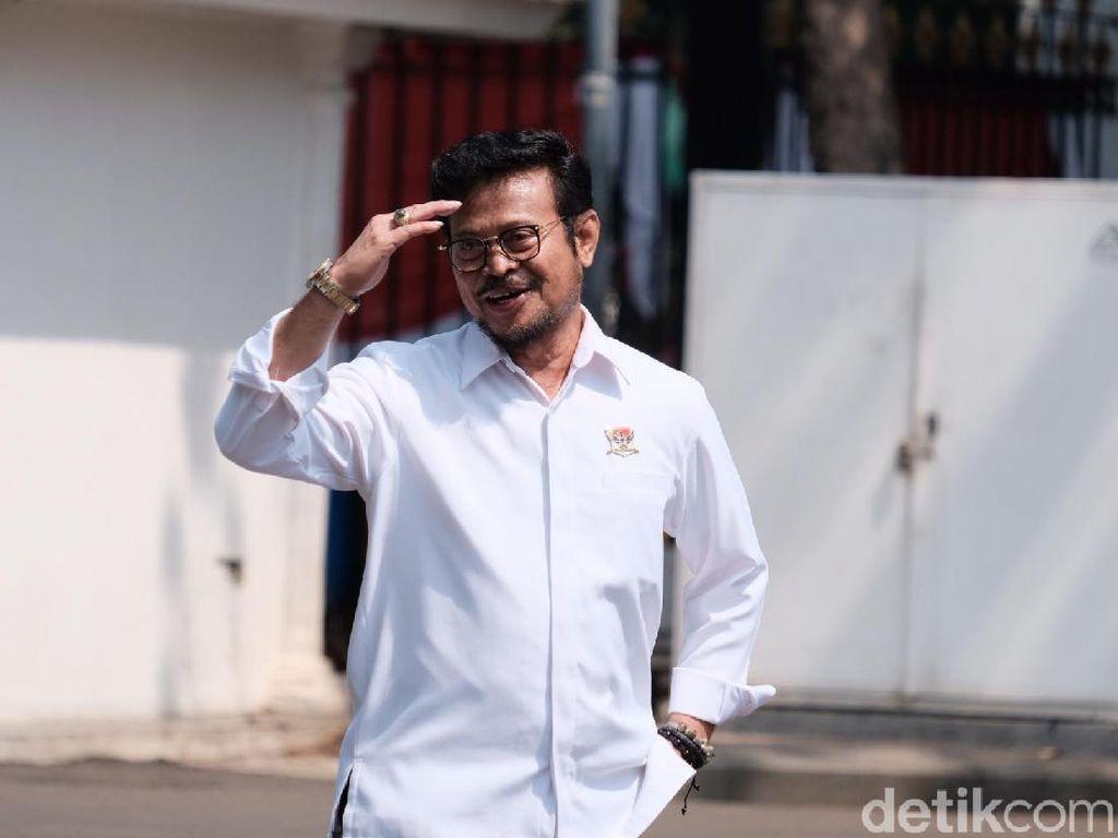 Tentang Syahrul Yasin Limpo yang Masuk Calon Anggota Kabinet Jokowi 2019