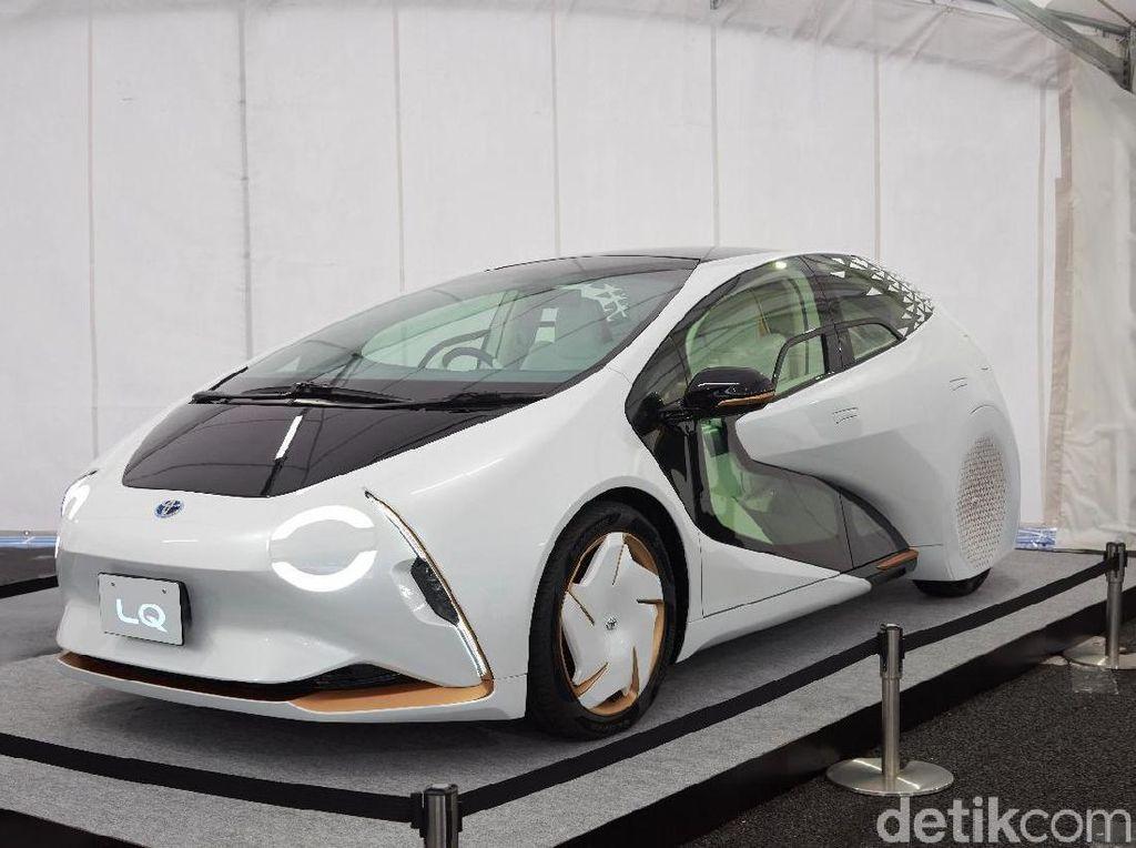 Mobil Robot Toyota Pemandu Atlet Olimpiade 2020
