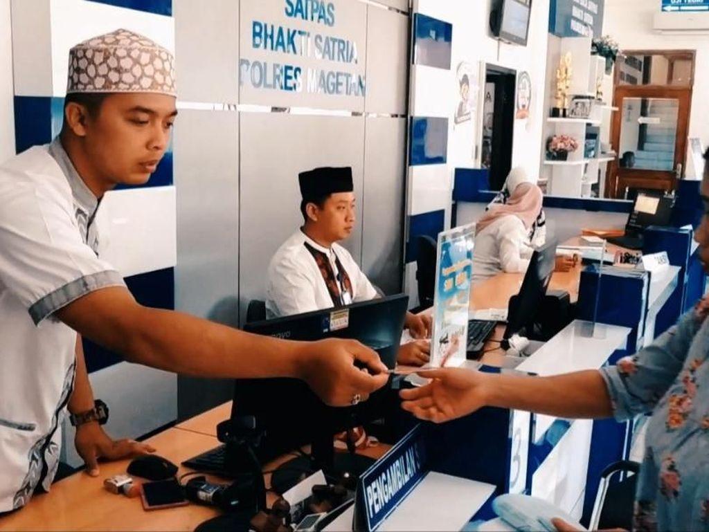 Sambut Hari Santri, Polres Magetan Buka Layanan One Juz One SIM