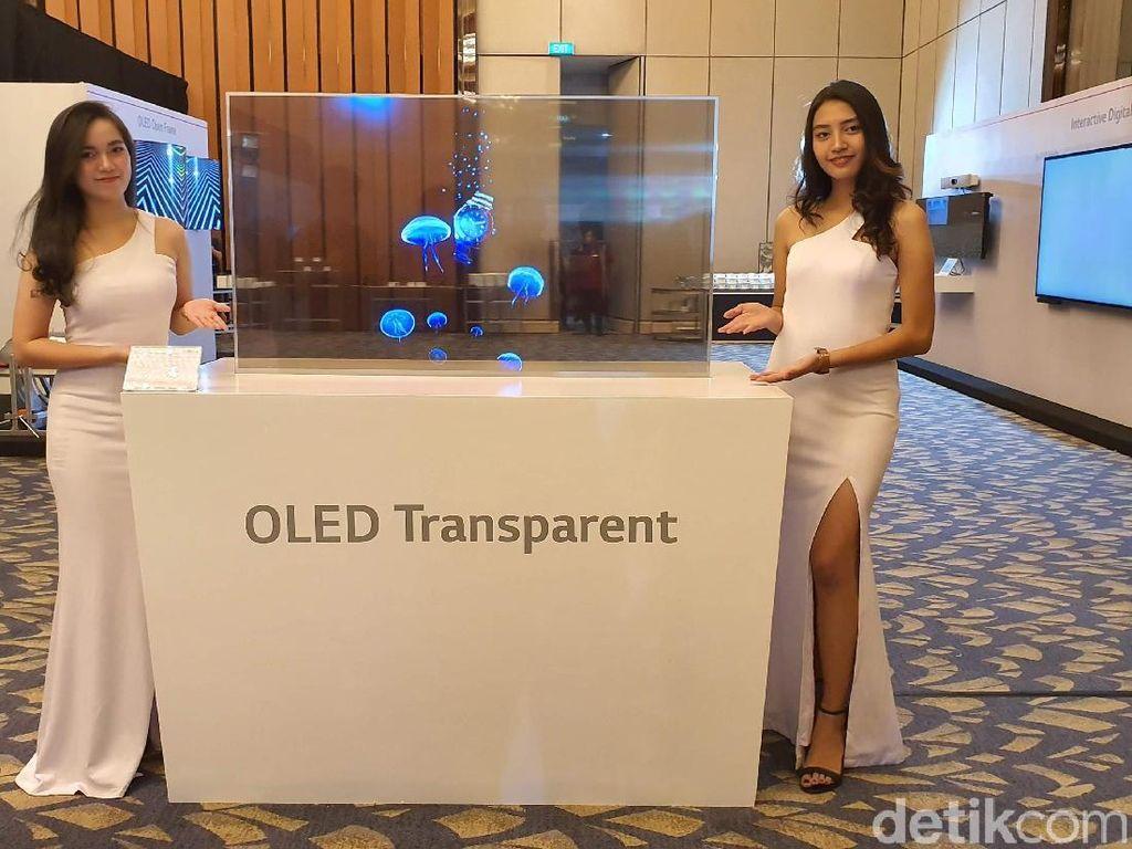 LG Genjot Produksi Panel OLED untuk TV
