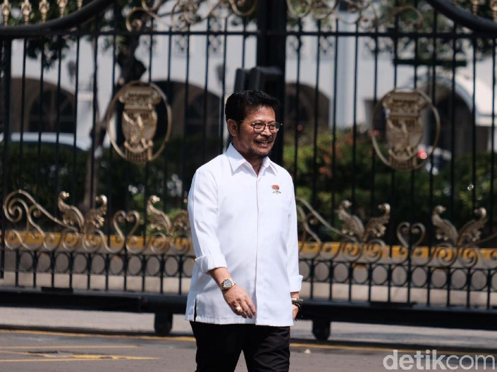 Dipanggil Jokowi, Ini Koleksi Kendaraan Syahrul Yasin Limpo
