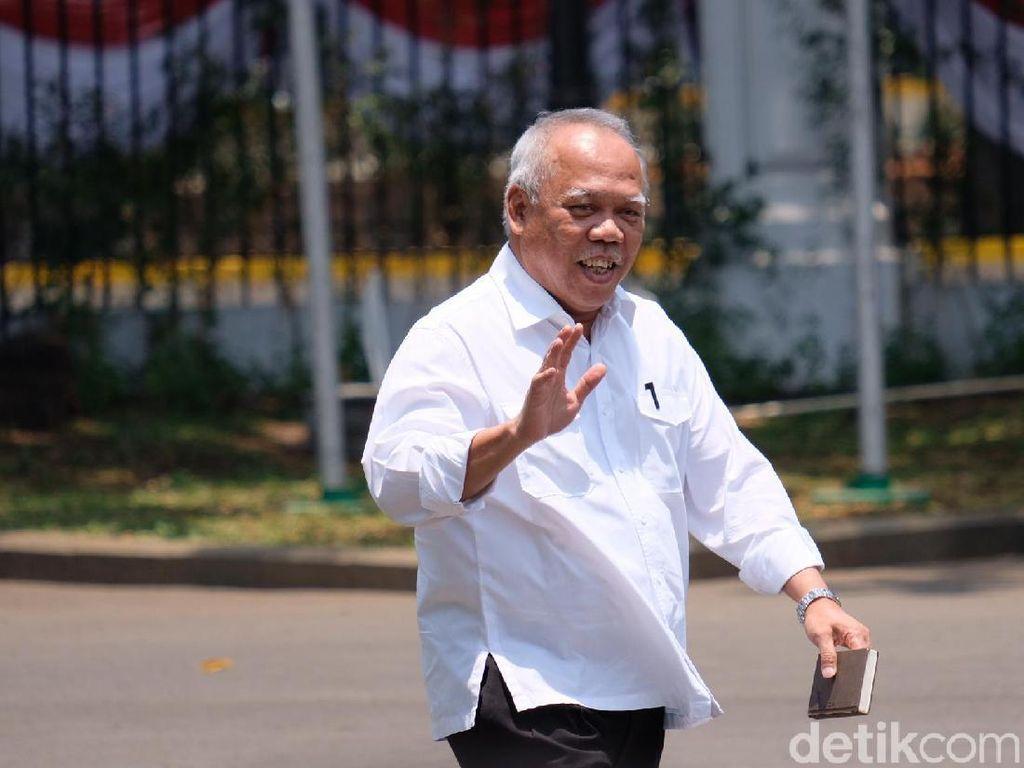 Jadi Menteri PUPR Lagi, Basuki Diajak Jokowi Makan Siang-Dengar Metallica