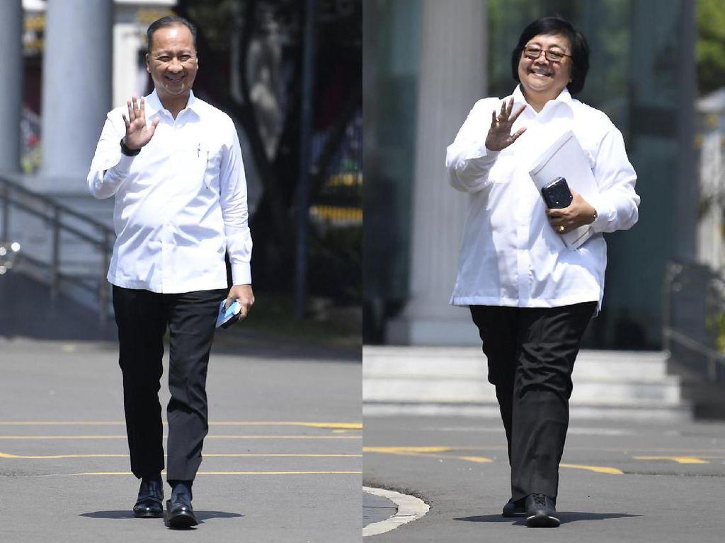 Calon Menteri Jokowi Sejauh ini: Profesional 10 Orang, Politikus 8 Orang