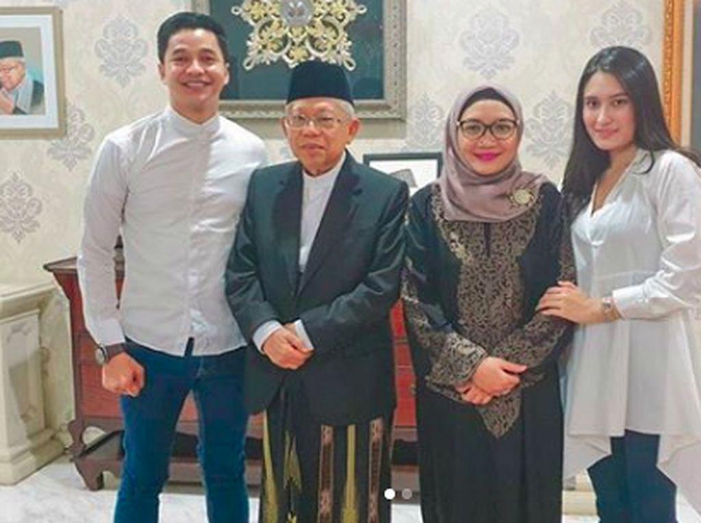 Adly Fairuz-Maruf Amin Cuma Famili Sekampung Kresek
