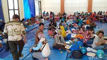 Kondisi Berangsur Aman, Ratusan Pengungsi Angin Kencang di Batu Dipulangkan