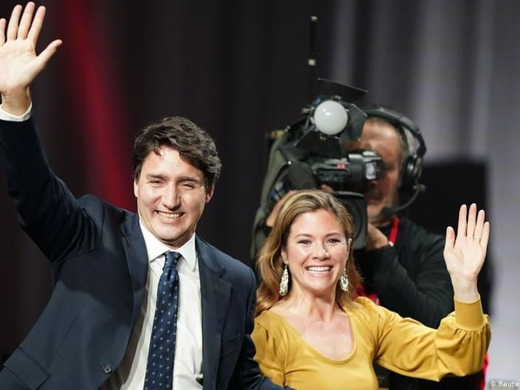 Partai Liberal Justin Trudeau Menang Pemilu di Kanada