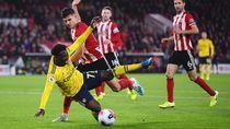 Tumbang di Markas Sheffield, Arsenal Tertahan di Peringkat 5 Klasemen