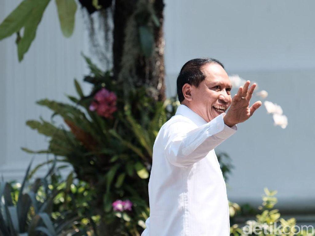Zainudin Amali Jadi Politikus Ke-4 Golkar yang Merapat ke Istana