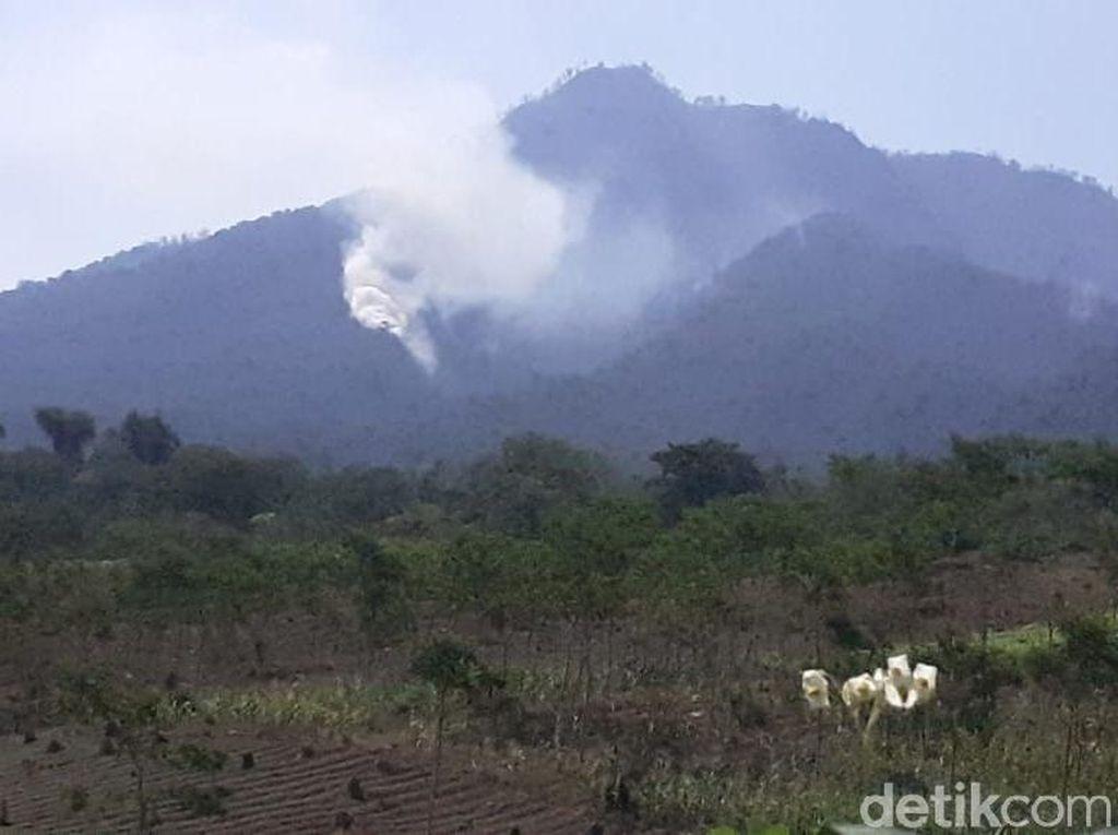 Helikopter Water Bombing akan Padamkan Kebakaran di Pengunungan Ijen