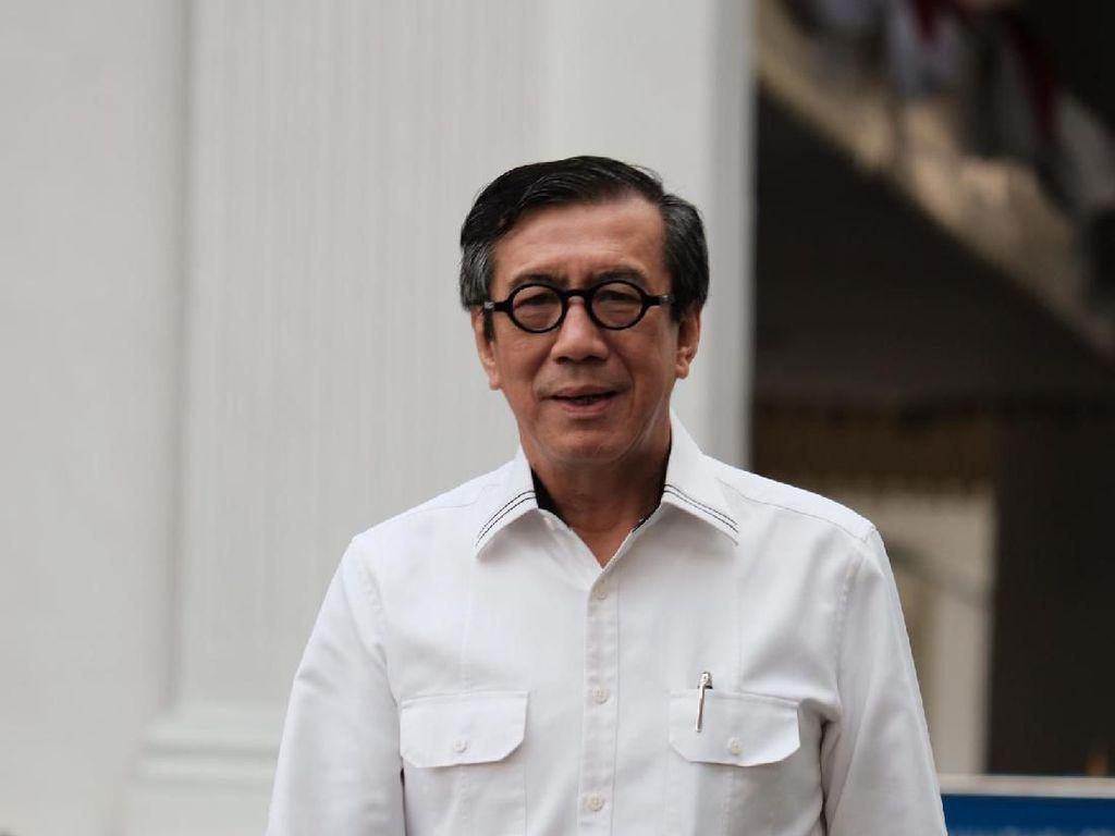 Perppu KPK Tak Disinggung dalam Pertemuan Jokowi-Yasonna di Istana