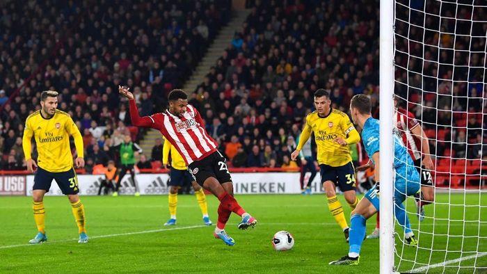 Arsenal kalah 0-1 di markas Sheffield United. (Foto: Michael Regan/Getty Images)