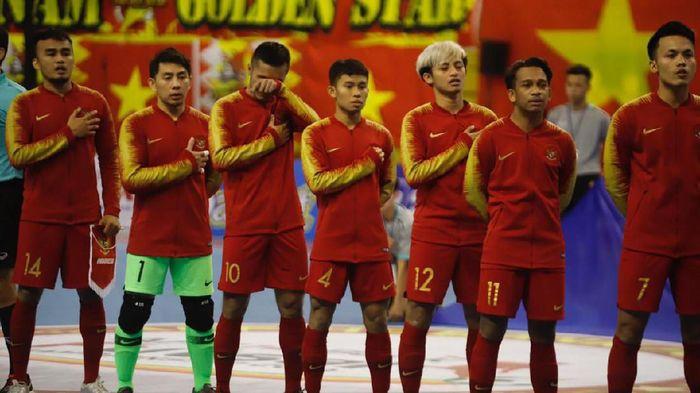 Timnas Futsal Indonesia bermain imbang 0-0 dengan Vietnam (Foto: dok. Federasi Futsal Indonesia (FFI))