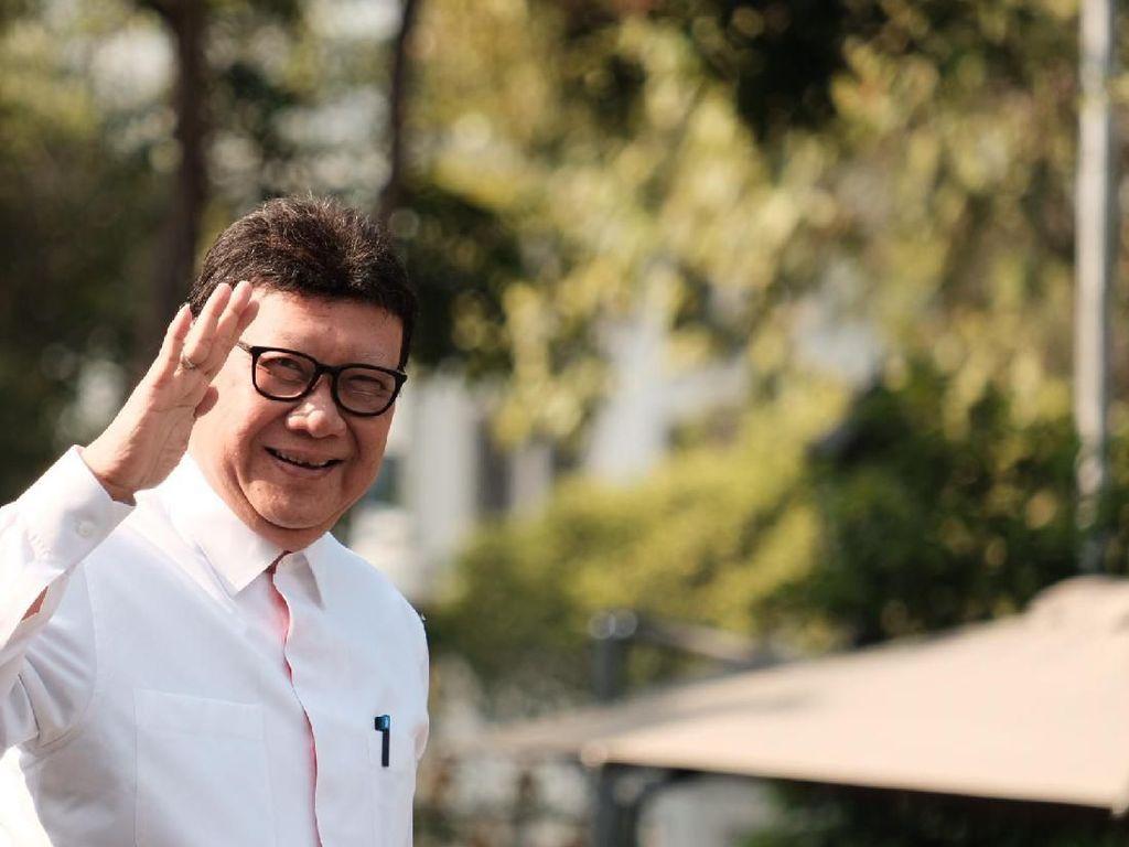 Tjahjo Kumolo Jabat Menko di Kabinet Jokowi-Maruf?