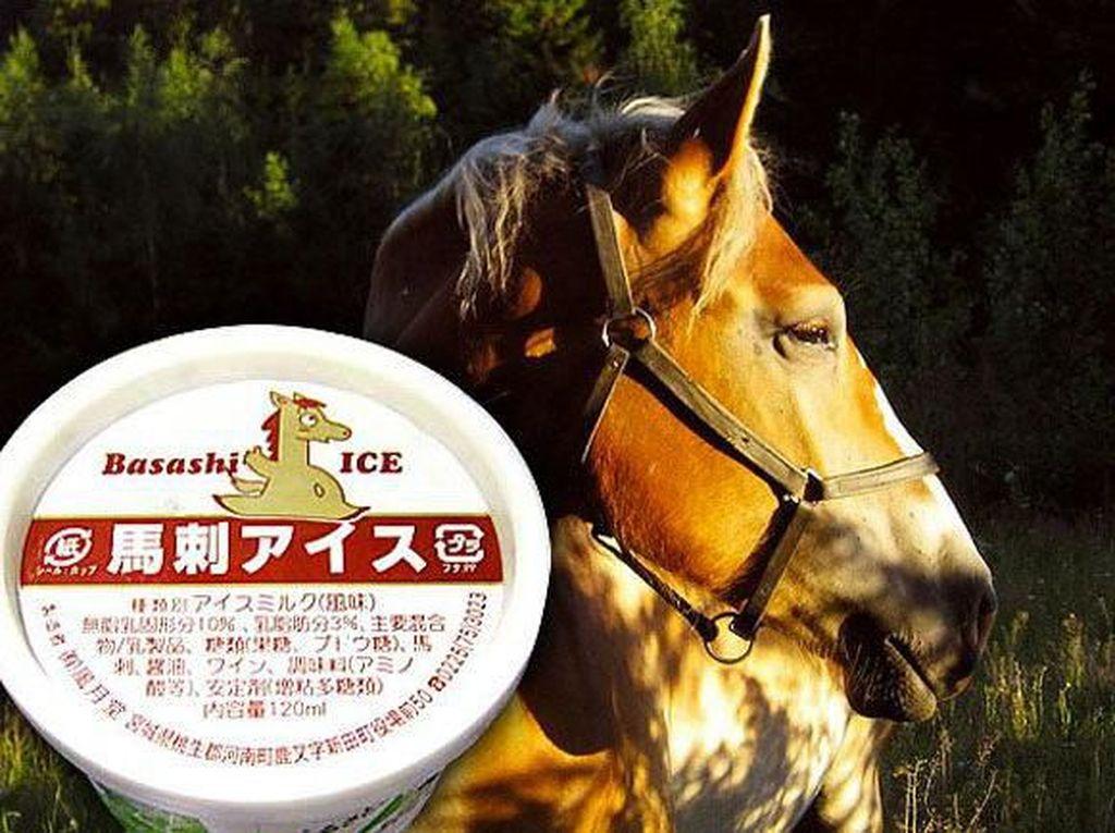 Es Krim Rasa Daging Hewan Ini Dibuat Dari Kuda hingga Hati Angsa