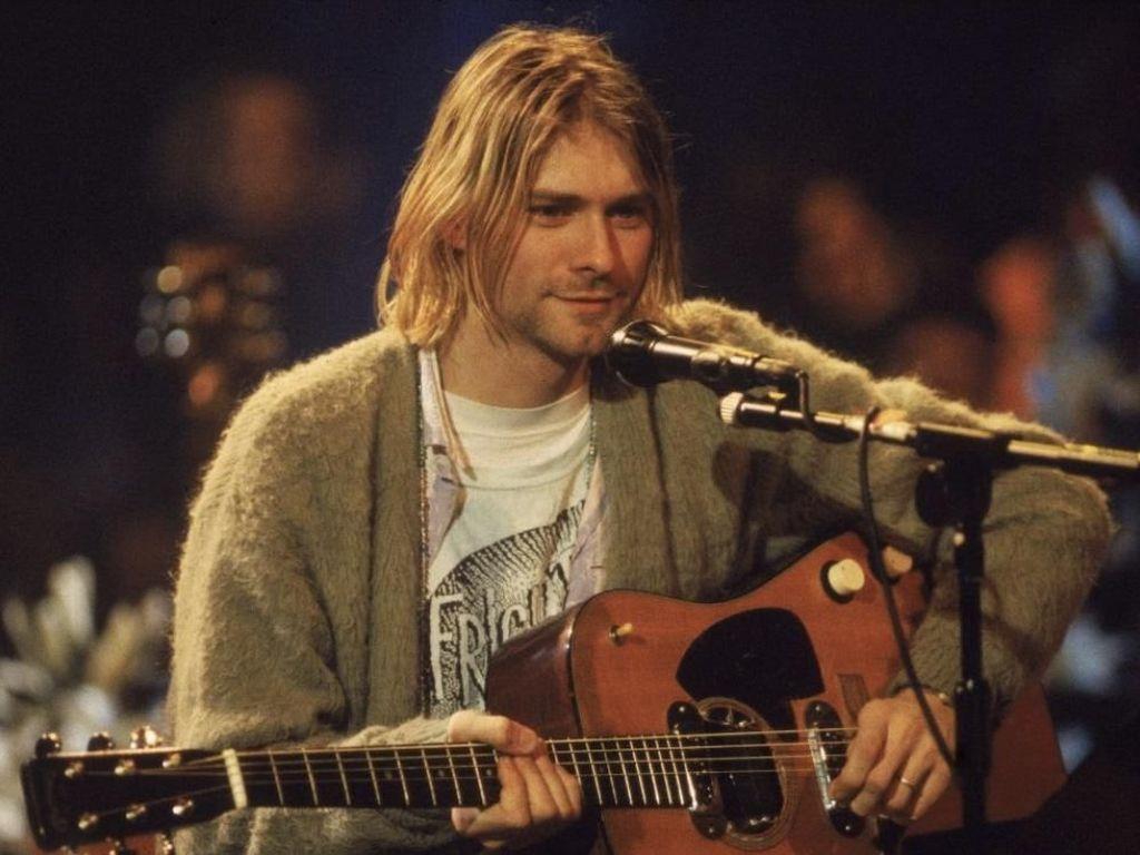 Gitar yang Dipakai Kurt Cobain di MTV Unplugged Bakal Dilelang