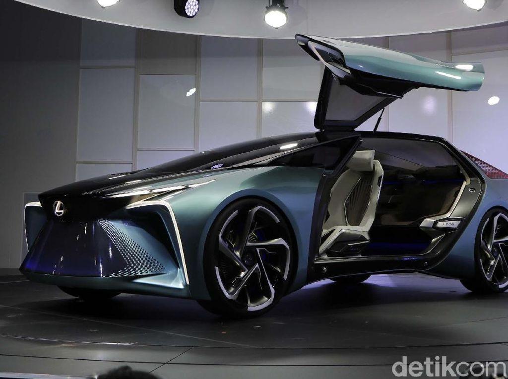 Mobil Listrik Perdana Lexus, Bisa Nyetir Sendiri