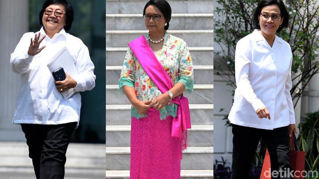 Deretan Menteri Srikandi di Kabinet Indonesia Maju