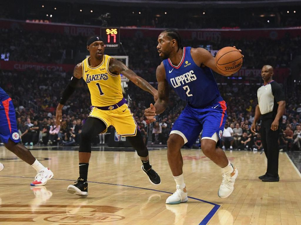Hasil NBA: Kalahkan Lakers, Clippers Menangi Derby LA