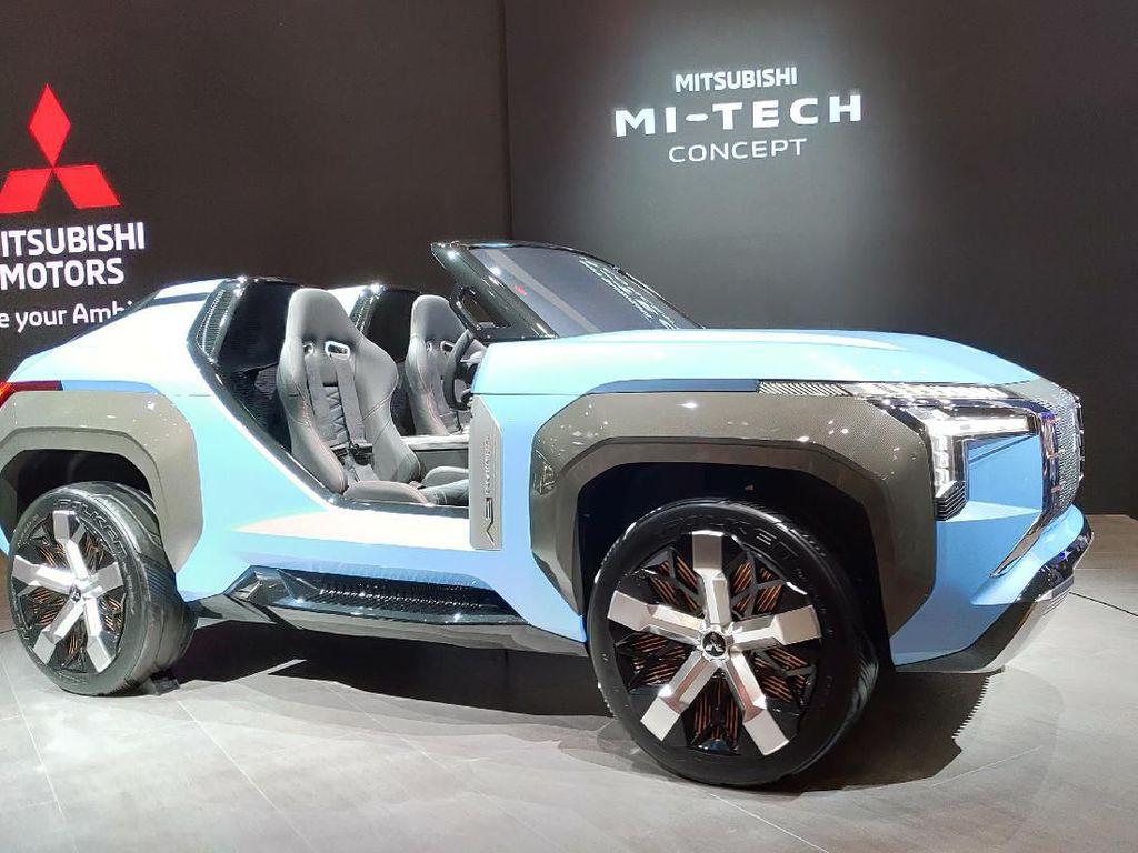 SUV Mungil Mitsubishi Ini Disapa MI-Tech