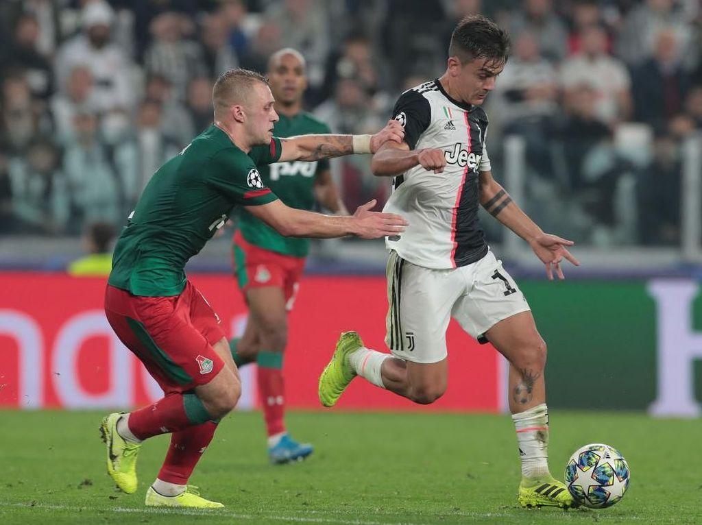 Juventus Vs Lokomotiv Moscow: Dua Gol Dybala Antar Bianconeri Menang 2-1