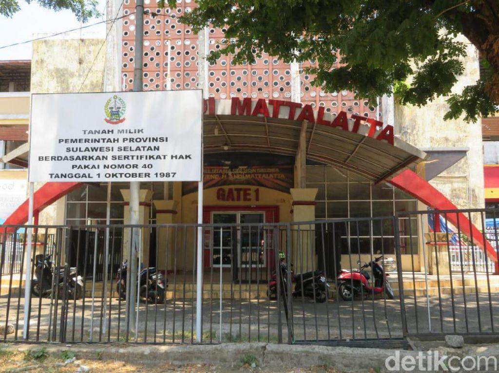 Komisi A DPRD Sulsel Minta Pemprov Segera Renovasi Stadion Mattoanging