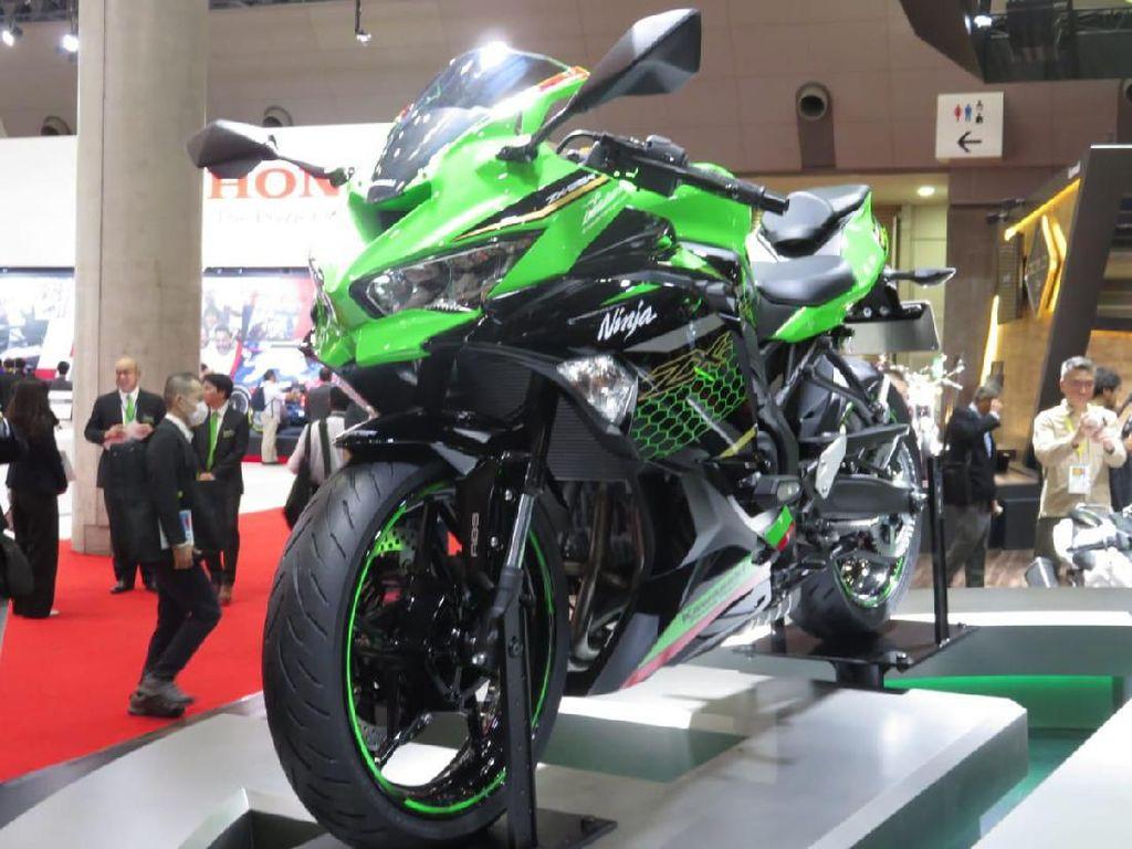 Yes! Kawasaki Ninja 4 Silinder Resmi Ngaspal di Indonesia 10 Juli 2020