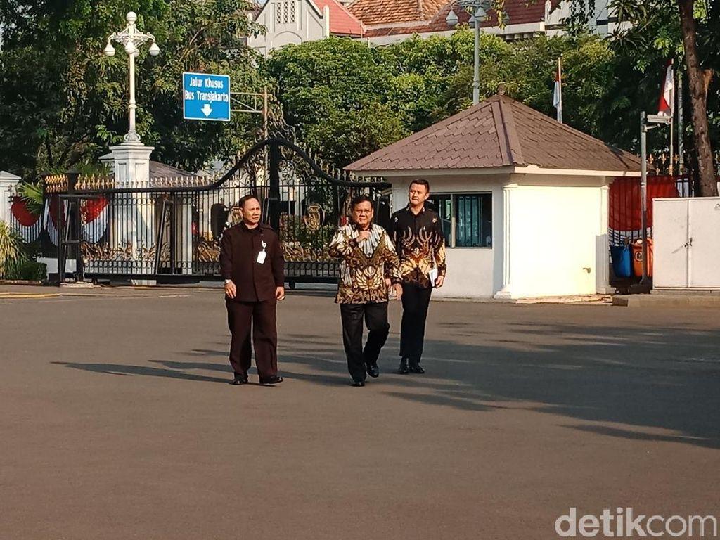 Hari Pelantikan Menteri, Prabowo Hingga Muhadjir Sudah Merapat ke Istana