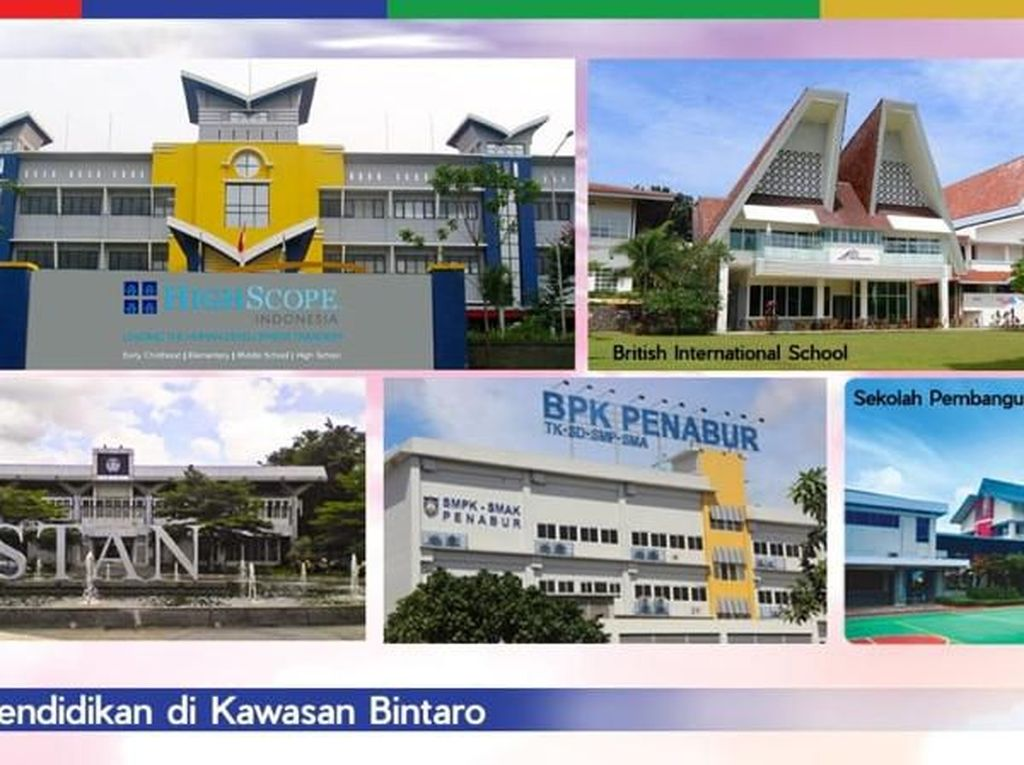 Ini Dia Pusat Pendidikan Terlengkap di Bintaro