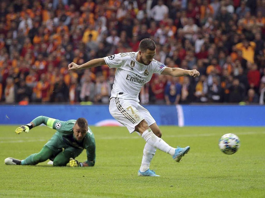 Momen Hazard Buang Peluang Emas Lawan Galatasaray