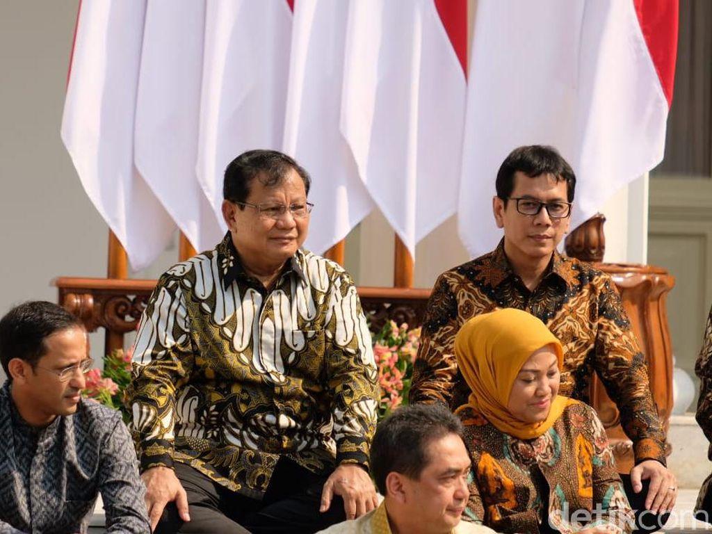 Kenalkan Prabowo Jadi Menhan, Jokowi: Beliau Lebih Tahu Tugasnya dari Saya