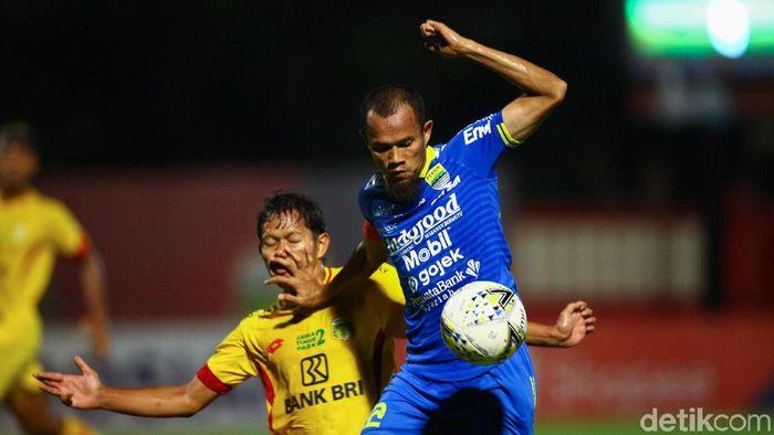 Bhayangkara FC bermain imbang 0-0 dengan Persib Bandung (Foto: Rifkianto Nugroho/detikSport)