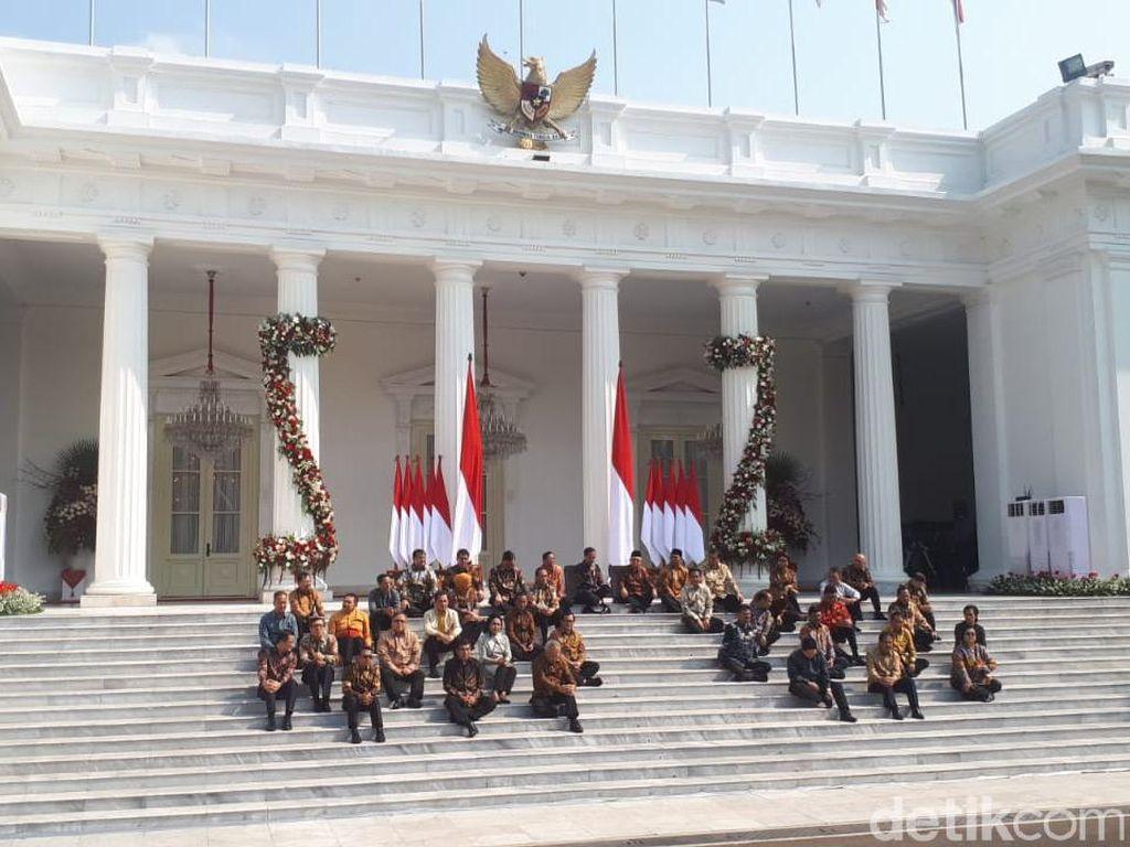 Pernyataan dan Pesan Lengkap Jokowi Saat Menunjuk Para Menteri