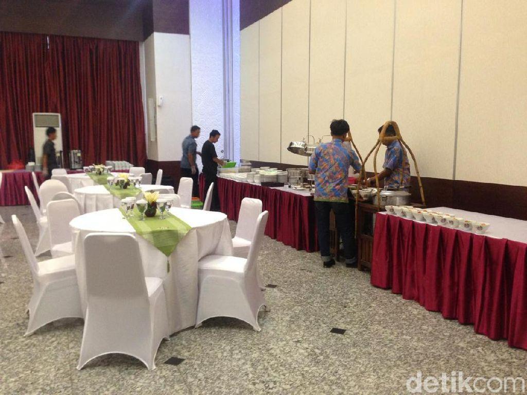 300 Porsi Makanan Disajikan untuk Pisah Sambut Kepala Bappenas