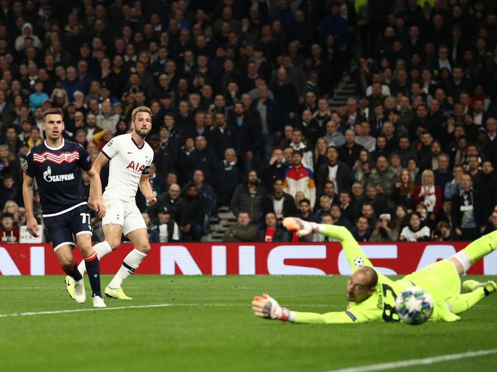 Hasil Liga Champions: Tottenham Pesta Lima Gol ke Gawang Red Star