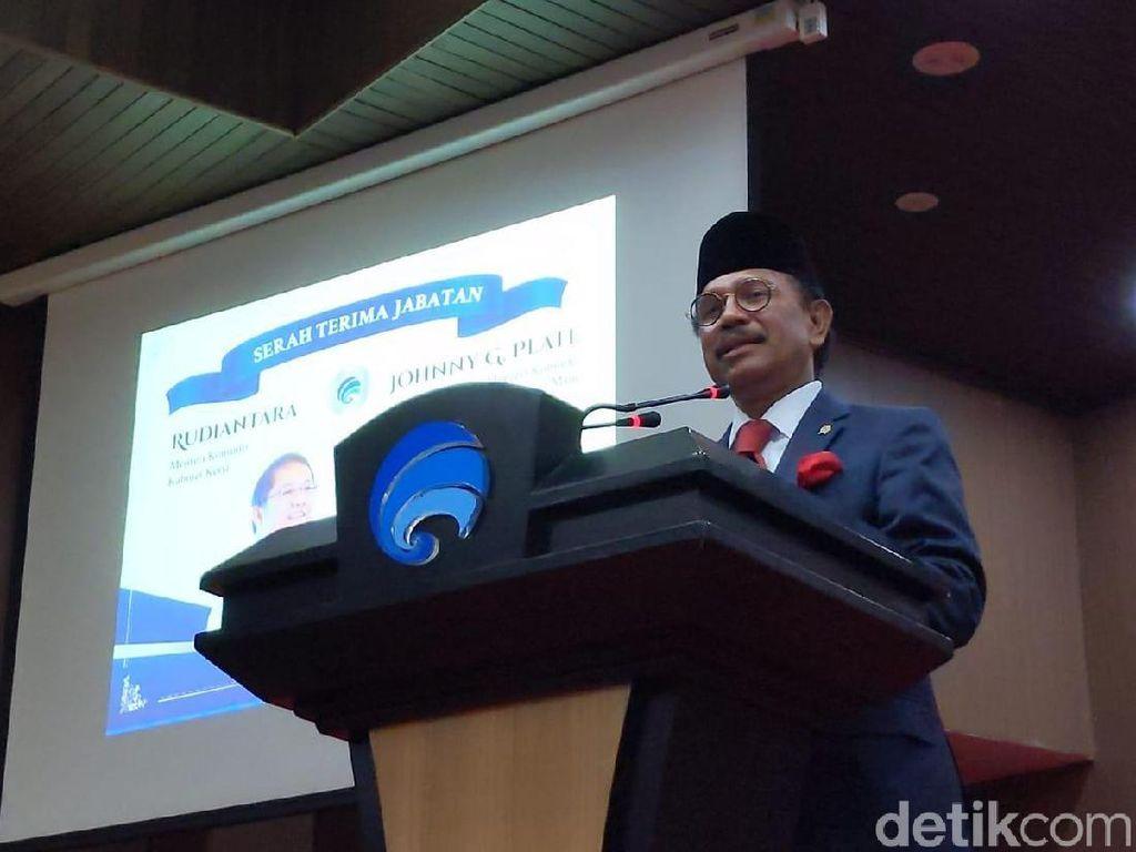 Perintah Pertama Jokowi untuk Menkominfo Johnny