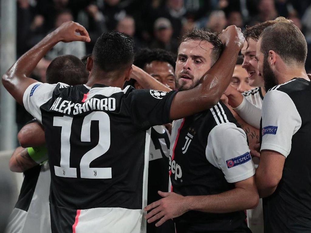 Hasil Liga Champions: Juventus-Madrid Menang Tipis, City-PSG Pesta Gol
