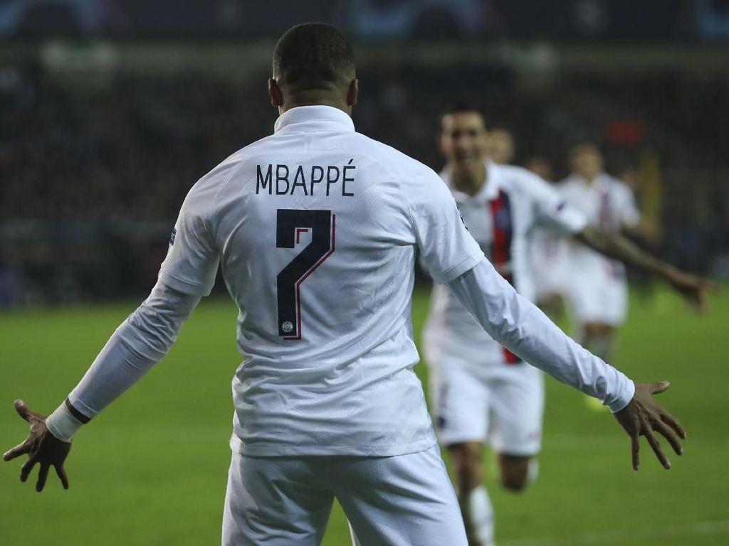 Super Mbappe: Bikin Hat-trick dan Satu Assist dalam 30 Menit