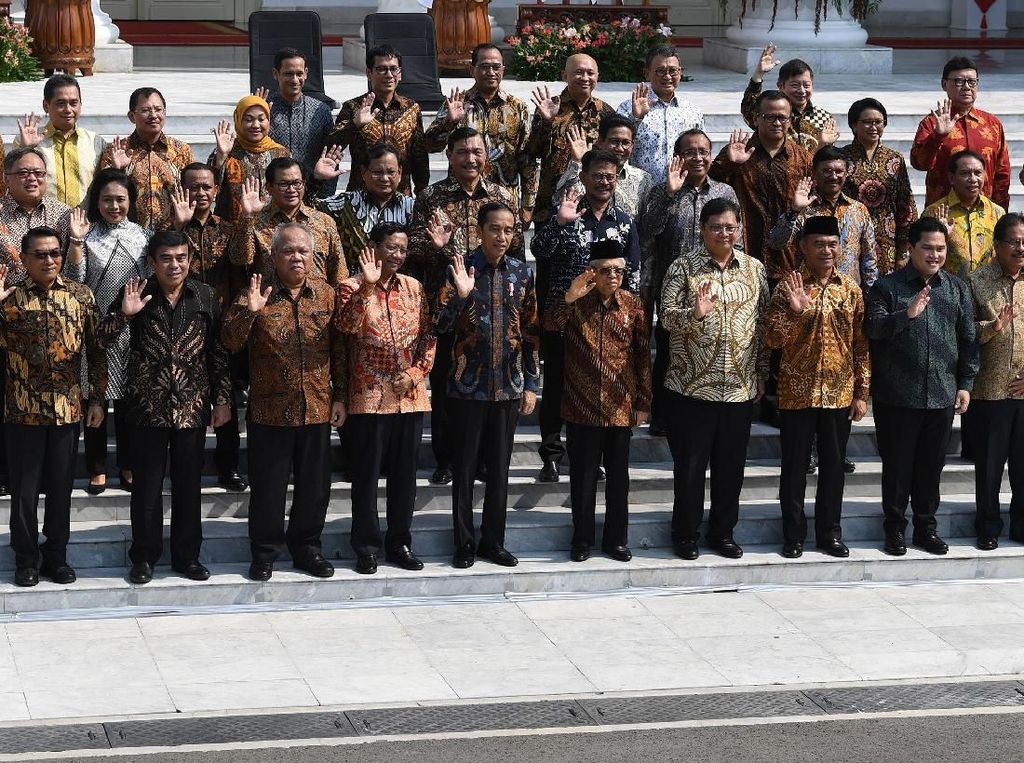 Almamater Anggota Kabinet Jokowi: 6 Menteri dari UGM, 5 Lulusan AS