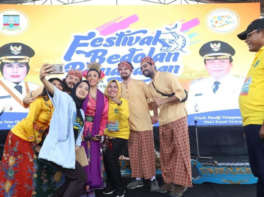 Festival Bedolan Pamarayan, Cara Pemkab Serang Tarik Wisman