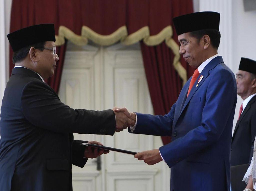 Prabowo Pulang Usai Pelantikan, Sekjen Kemhan: Beliau Kurang Tidur