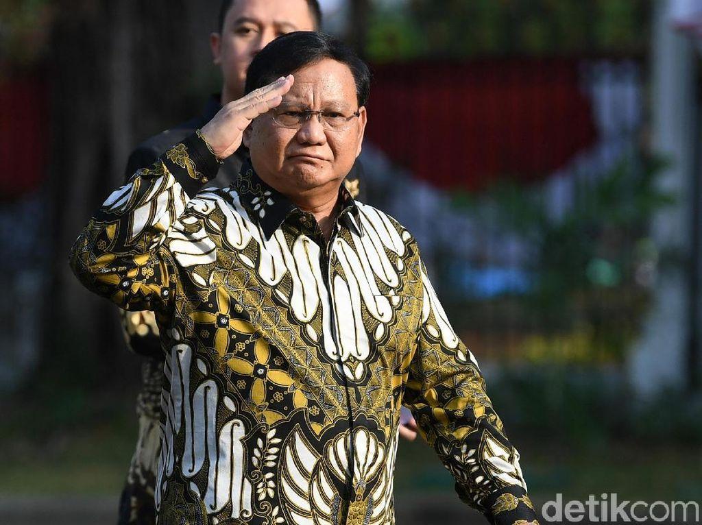 Sertijab Prabowo-Ryamizard Digelar Besok Usai Rapat Kabinet Perdana