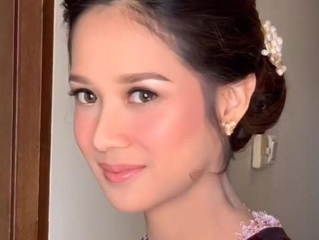 Gista Putri Makeup Flawless di Pelantikan Suami, Dipuji Ibu Menteri Tercantik