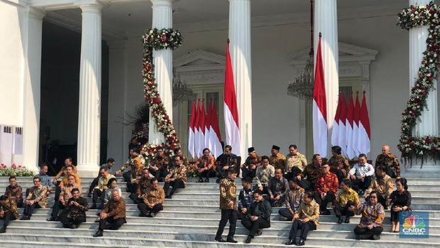 Jokowi Beri Nama Kabinet Indonesia Baru